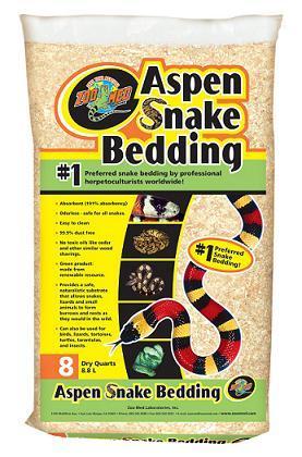 Zoo Med Aspen Snake Bedding ⋆ Snakeestate